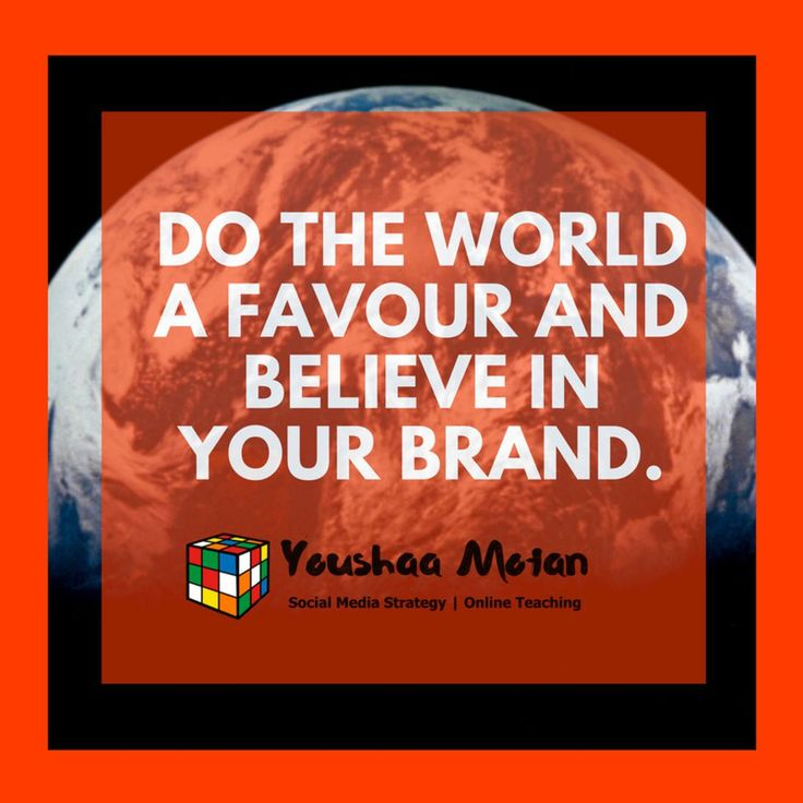 Believe in your brand.  #thursdayquote #businessowner #smallbusinessowner #entrepreneurmindset #businessminded #personalbranding #personaltrainer #lifecoach #coach #teacher #entertainer #guru #selfemployed #biz #businessidea #workfromhomedad #workfromhomemom #workfromanywhere #workfromhomelife #momboss #dadboss #mompreneur #dadpreneur