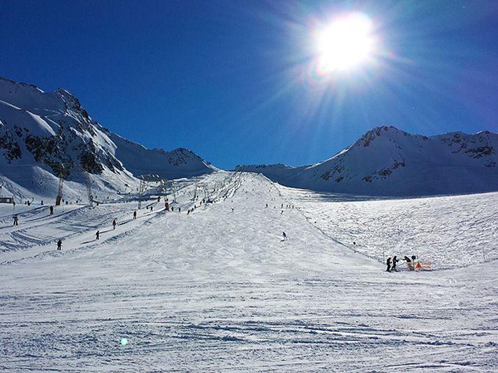 Skifahren in Südtirol: Skigebiet Schnalstal