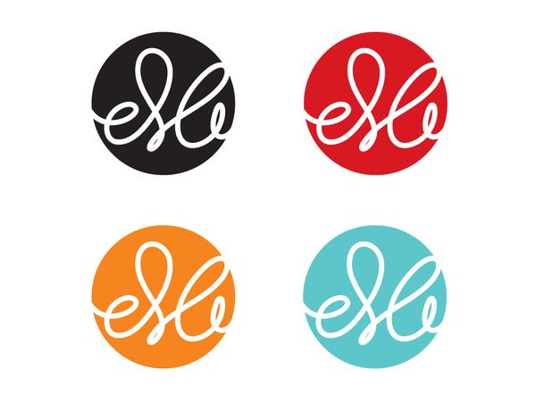 I like that once made the logo colours could be swapped around and/or used in black and white