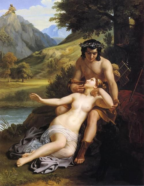 Alexandre Charles Guillemot The Loves of Acis and Galatea, 1827