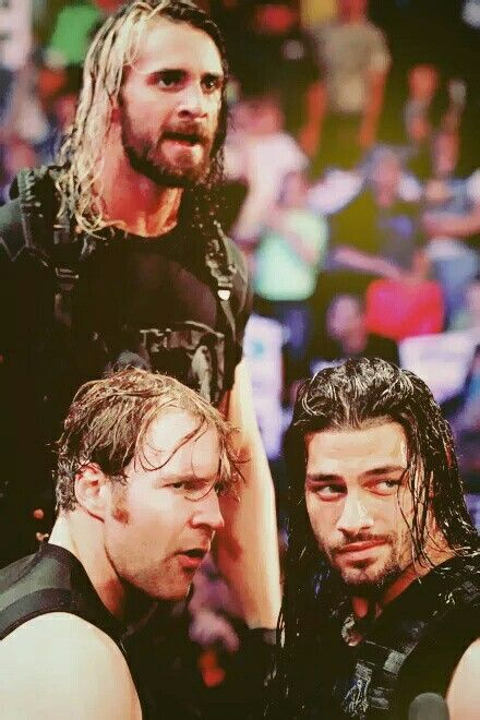 Seth Rollins Dean Ambrose & Roman Reigns
