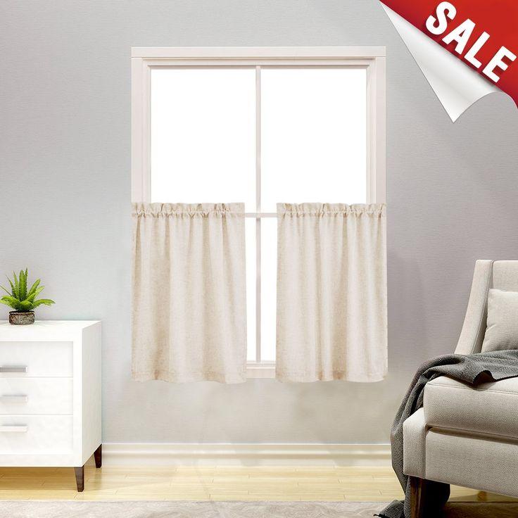 Die besten 25+ kurze Fenstervorhänge Ideen auf Pinterest - schiebegardinen kurz wohnzimmer
