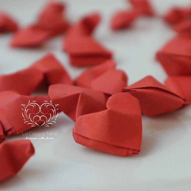 cuori origami