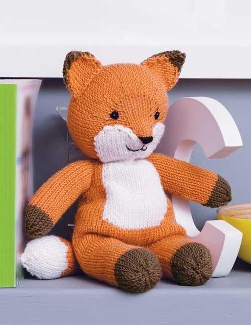 Knitting Kit for Woolly Fox