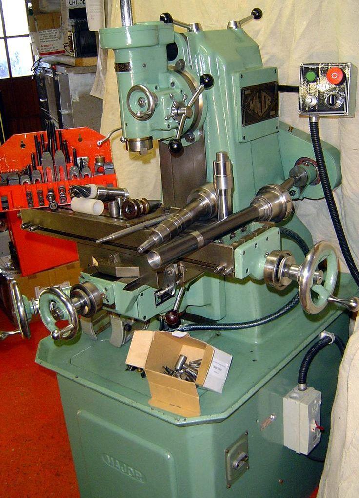 Haighton Milling Machine Other Machine Tools Pinterest