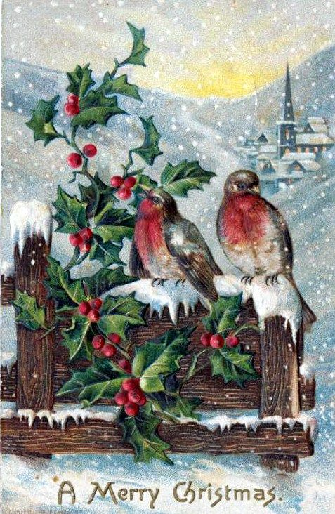 Free Vintage Christmas Cards In The Public Domain Free Vintage Illustrations Christmas Art Christmas Ephemera Vintage Christmas Cards