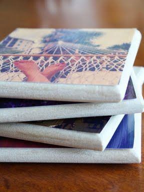Coasters DIY - great favor idea!