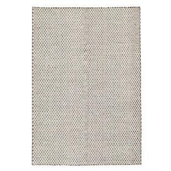 Ręcznie tkany kilim Brown Cross Kilim, 160x225 cm   Bonami
