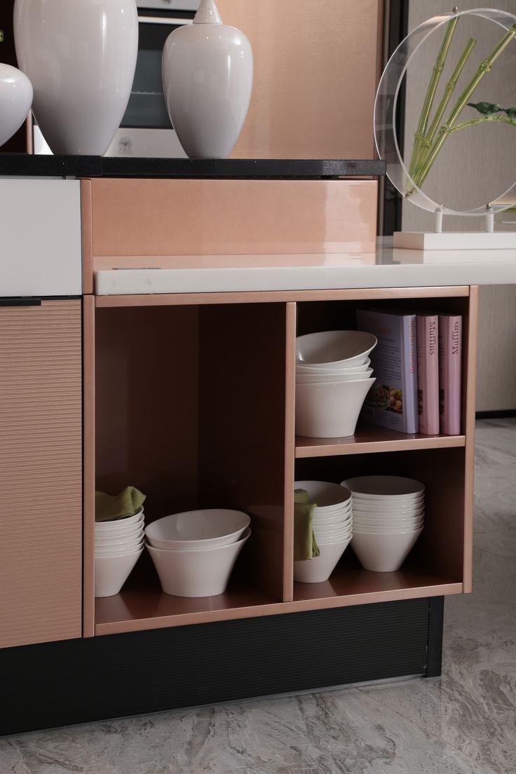 11 best 2014 Metal Foil Modern Silver Kitchen Cabinet ...