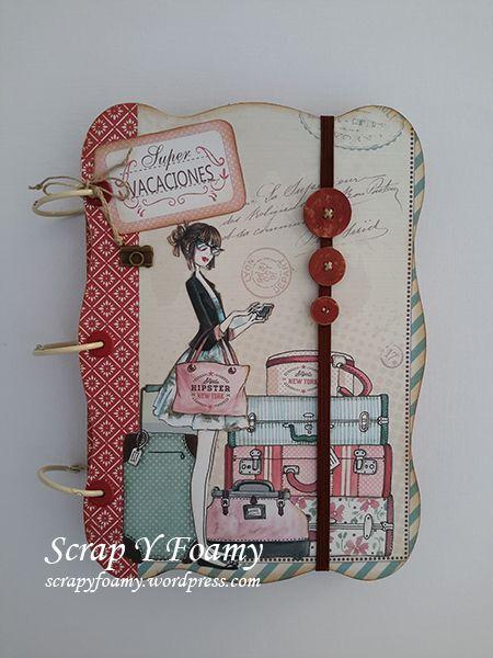 Cuaderno de Viaje o Travel Book  con la colección Vacaciones de DaykaTrade