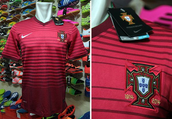 Jersey Portugal Home World Cup 2014 Rp 110.000   BB : 33241842 (A.n Ade Futsal & Soccer)  Call: 085658790893 WhatsApp : 082178006207