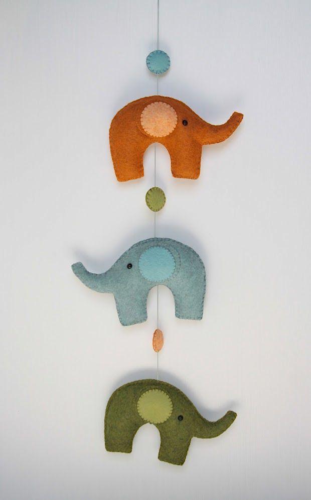 Totally cute elephant! benzie_elephant_mobile_01
