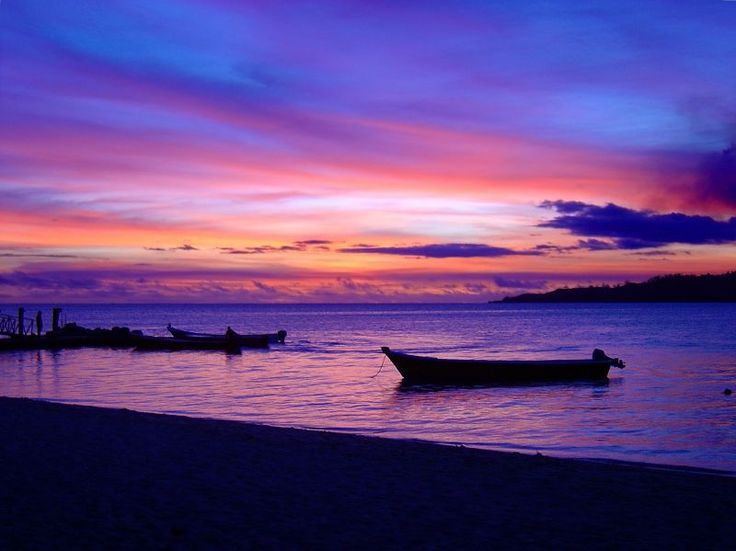 Tropical Island Beach Ambience Sound: Fiji Islands Sunset - Bing Images