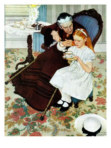 """The Handkerchief"", January 27,1940 Print by Norman Rockwell"