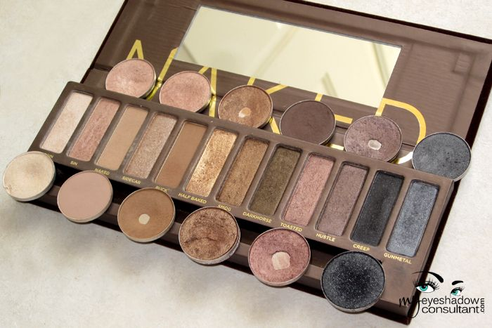 MAC Dupes for the Urban Decay Original Naked Palette: Do you have MAC eyeshadows but want to create an eye look that asks for Urban Decay's original Naked Palette (or vice versa)? Here are the MAC shadows that are alternatives to the Naked Palette.