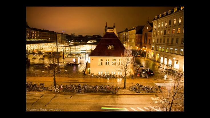 Copenhagen at night - Small time-lapse photography.