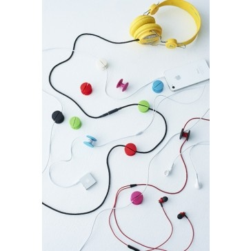 Cable Dot - #Cool Headphone #Cable Management. Organise and shorten your cables! $6.50 ex GST