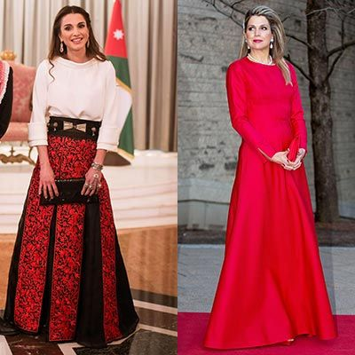 Princess Victoria, Queen Rania, Queen Maxima and the Queen: Gallery of the week's best royal style