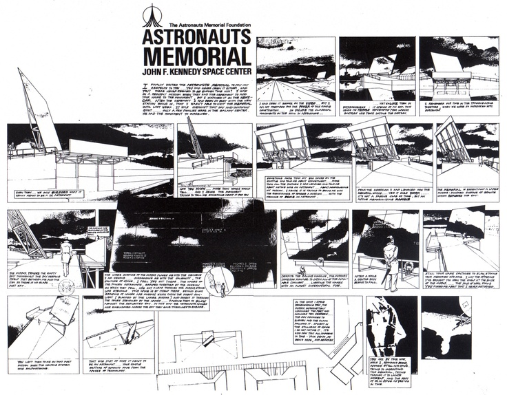 JONES,PARTNERS;ARCHITECTURE  Astronauts Memorial Storyboard