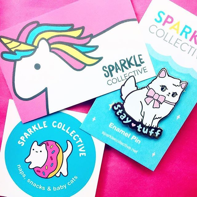 Love seeing so many people posting photos of their recent orders. 😻💘 (Special thanks to @decodab for this one! ✨) #pins #pingame #shopsmall #supportartists