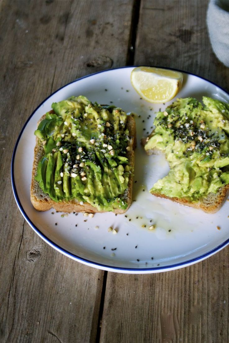 Simple Avocado Toast | Sometimes less is more.