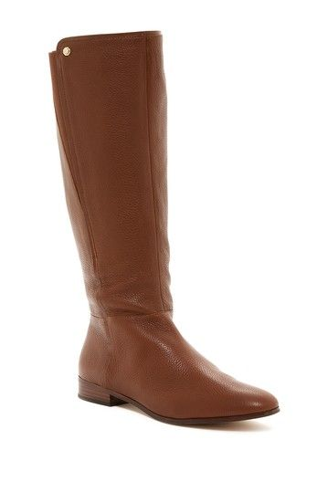 14e14aa6db1 Tall Pebbled Leather Boot