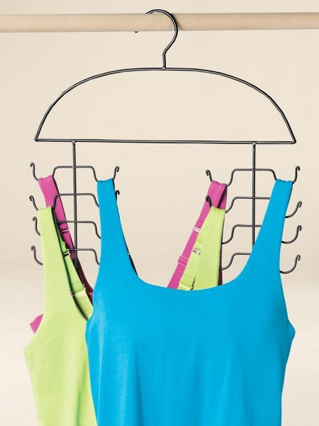 Cami Hanger (set of 2 hangers) - Space-saving hanger holds 8 camis  in the space of one | Solutions