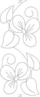embroidery flower design