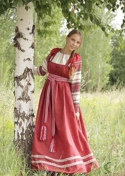 Русский народный костюм (102 фото): национальный костюм ...