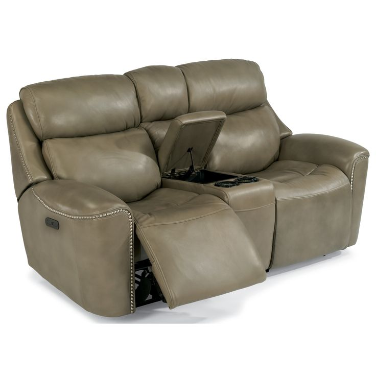 Latitudes-Mystic Power Reclining Loveseat w/ Console by Flexsteel  sc 1 st  Pinterest & 145 best Fabulous Flexsteel® images on Pinterest | South dakota ... islam-shia.org