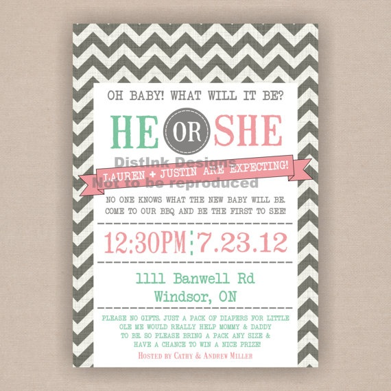 77 best Gender Reveal Party images – Baby Gender Announcement Wording