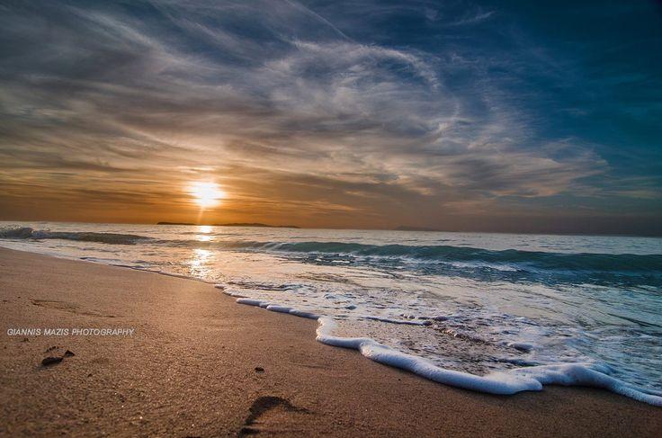 Logas beach, peroulades, Corfu. Photo by: Giannis mazis photography. #GreenCorfu - greencorfu.com - https://pinterest.com/greencorfu/