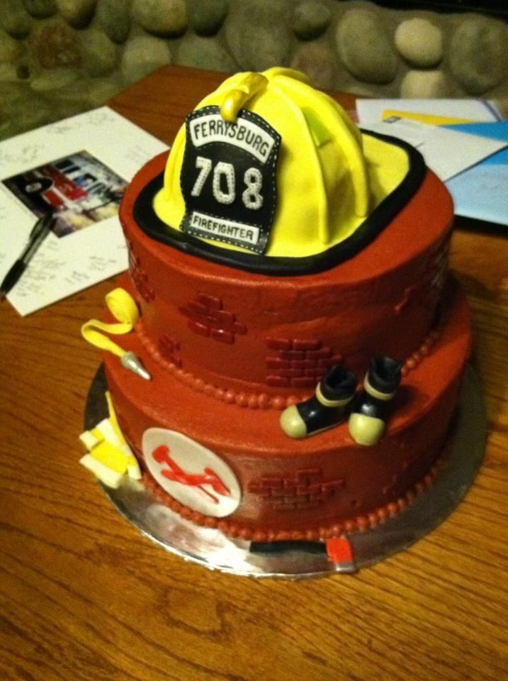 Fire Gear Cake | Shared by LION