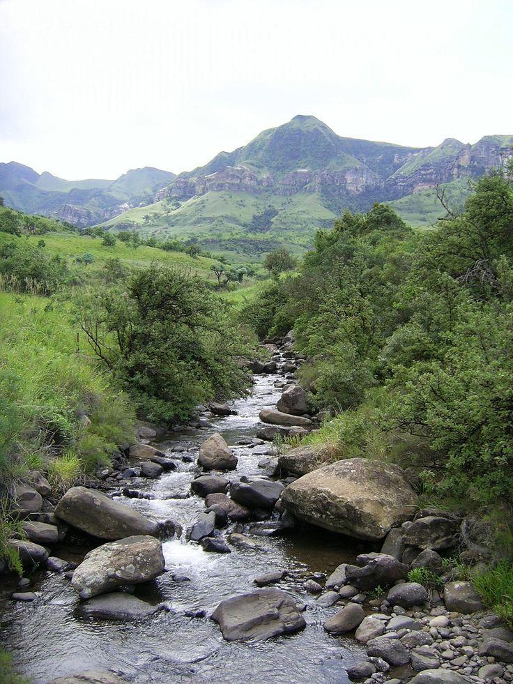 Tugela River Drakensberg - South Africa ...