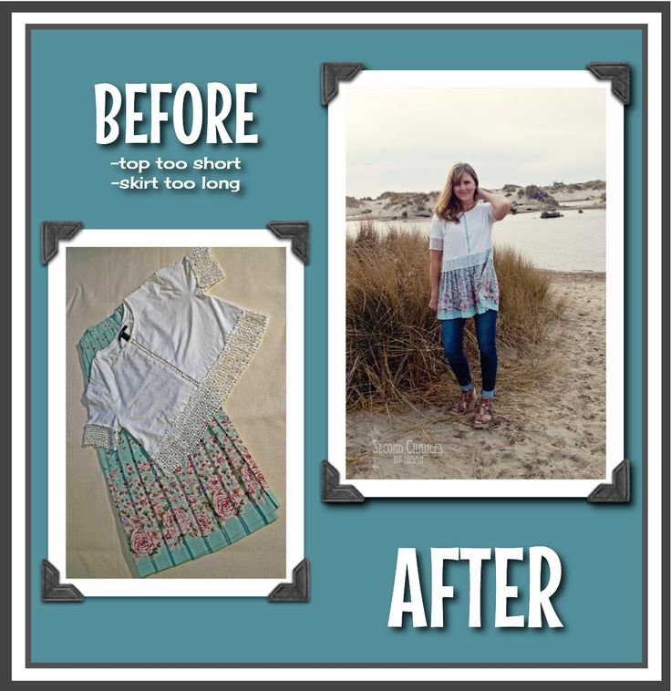 The second tunic in this series was just about as easy as the first one . I started with a crop top that had a nice lace edging, and a lon...