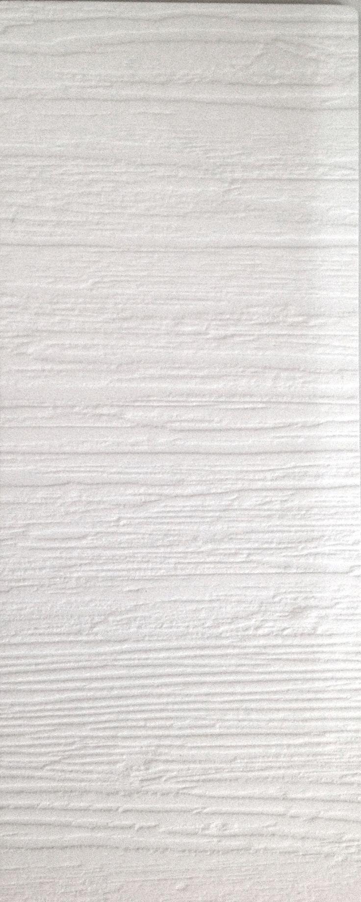 Knotted melamine wood. Flat white Porzellan 570
