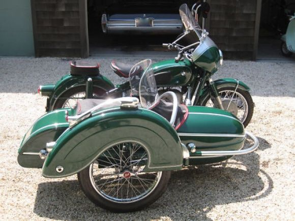 1957 bmw r50 with sidecar for sale right | another vintage