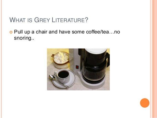 Slideshare presentation on finding science technology grey literature information by Matthew Von Hendy @GreenHeronInfo