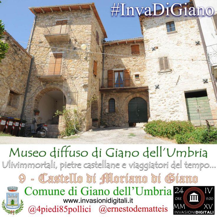 Castello di Moriano #invaDiGiano2015 #invasionidigitali