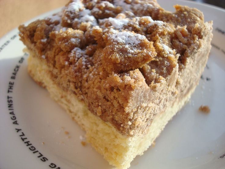 Perfect Crumb Cake Recipe *i have made this on multiple occasions, and it is always a hit! It's very rich, but also a little salty/sweet...and has the best crumbs ever! Huge crumbs! Fills a 9x13 pan and there's never any leftovers :-) ~fm*