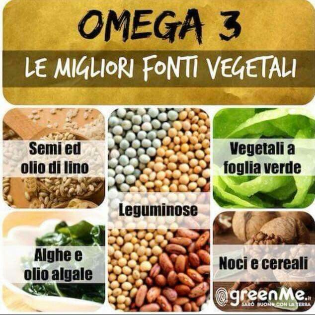 Omega 3 vegetali