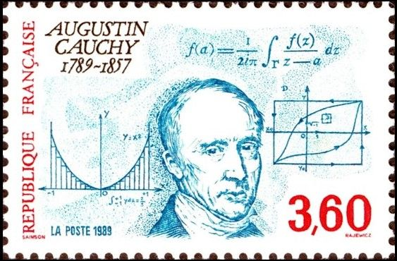 France Bicentenary of the Birth of Augustin Cauchy November 13, 1989 Baron…