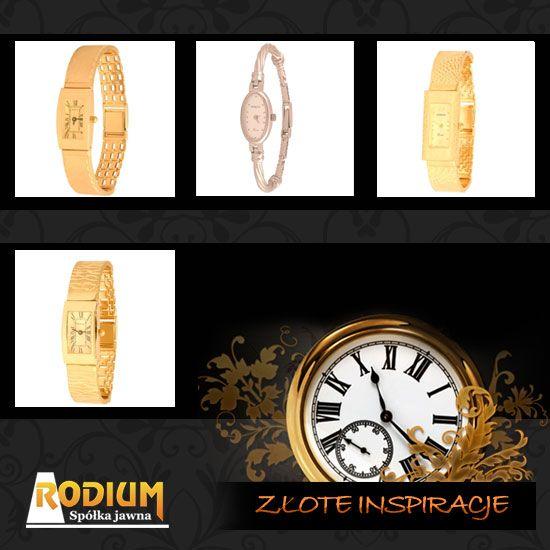 Złote zegarki - Śledź swoje marzenia!