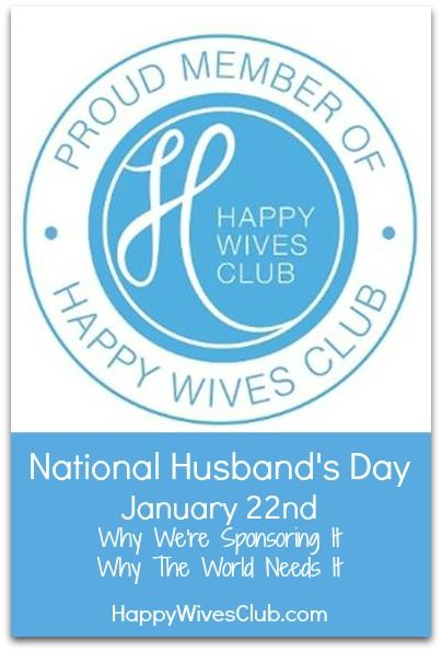 National Husband's Day {700,000 Strong, So We're Sponsoring It!}
