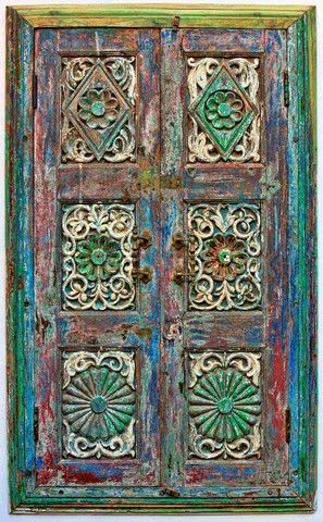 Stock image of Old wooden shutters