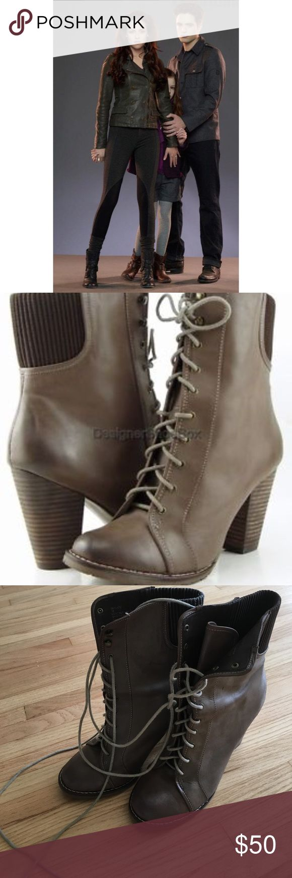Bella from Twilight Steve Madden Boots Adorable boots SAME as Bella's from  Twilight. Taupe/