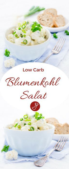 """Blumenkohl-Salat – Rezept für den """"falschen"""" Kartoffelsalat"""