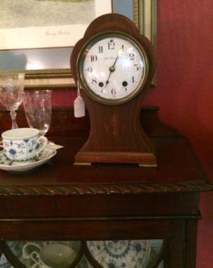 Seth Thomas Ballon Clock   Circa 1910  Good Working Timepiece  $325  Butler Creek Antiques Dealer #8804  Lucas Street Antiques 2023 Lucas Dr. Dallas, TX 75219  Like us on Facebook: http