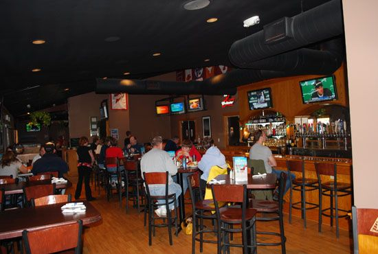 Enjoy a nice drink in our bar at our Ames location!