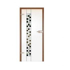 Drzwi szklane witrażowe GIPSY KINGS MOZAIKA 1